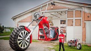 Самый большой мотоцикл в мире «Regio Design XXL Chopper»