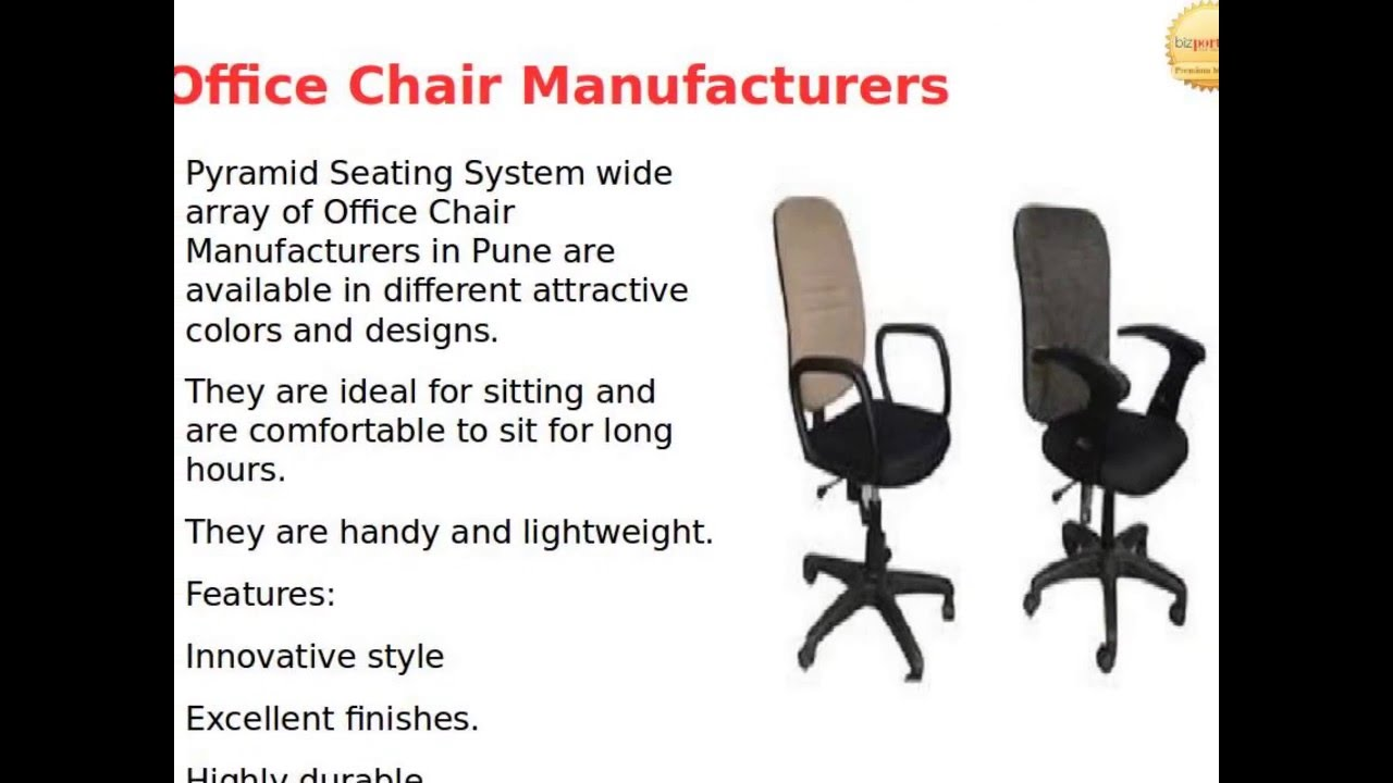 chairs manufacturer in pune pyramid seating system youtube