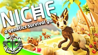 NICHE Gameplay : Genetics Simulator!  Create Animals & Fight to Survive! (PC Sandbox Survival)