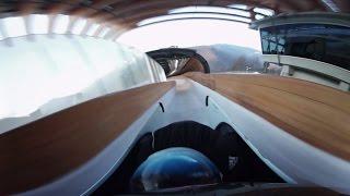 Bobsleigh 360: Hitting Sochi tube with panoramic camera