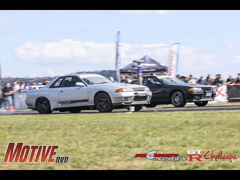 2017 Motive Drag Battle and GT-R Challenge - 1000hp monsters hit the runway.