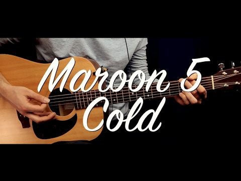Maroon 5 - Cold ft. Future Guitar Lesson (guitar cover&chords) Maroon 5 - Cold how to play / chords