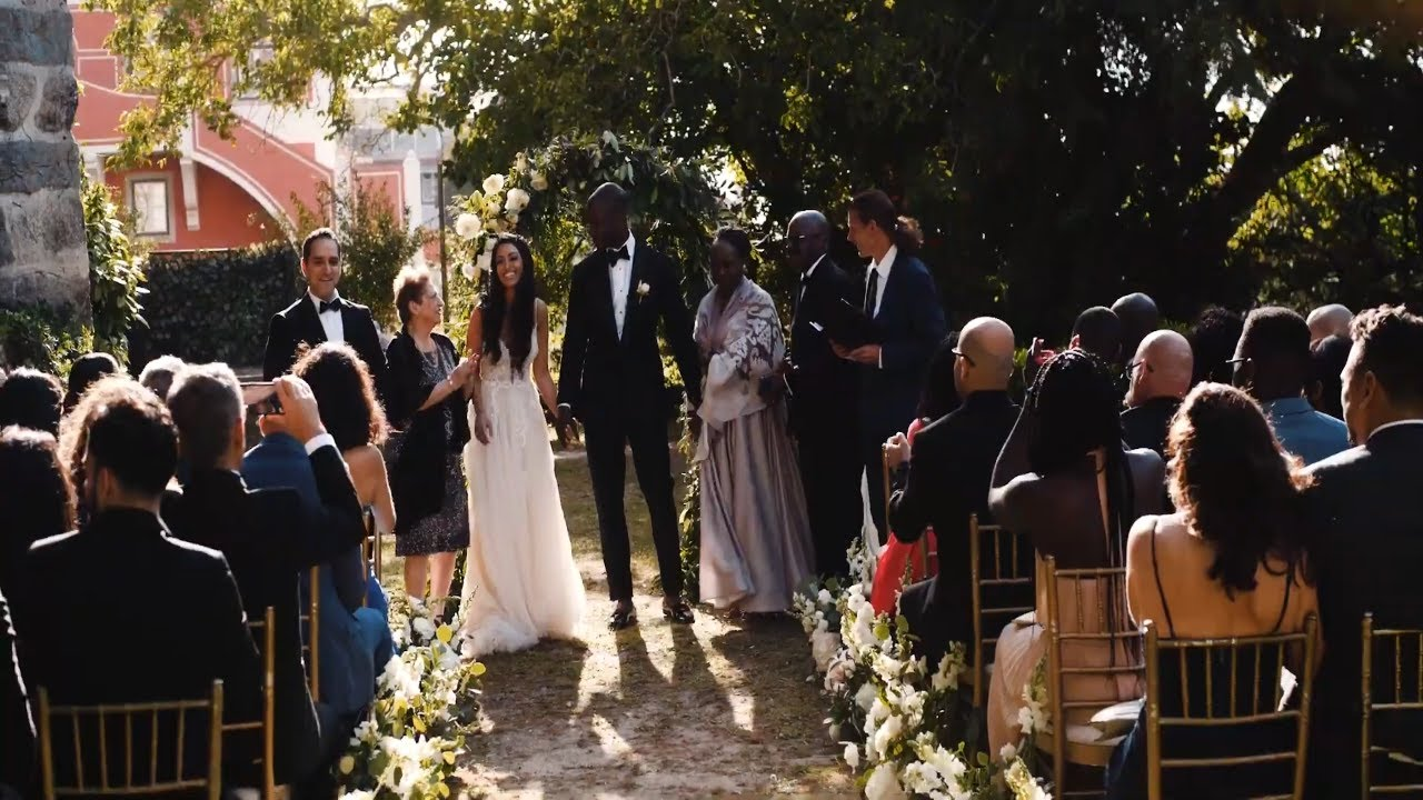 Wedding in Portugal at Casa dos Penedos Sintra  ~  by Lisbon Wedding Planner
