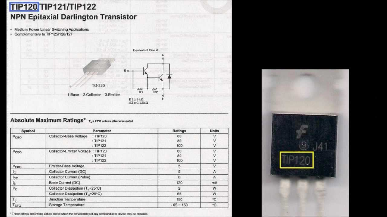 Transistor's Datasheet Tutorial  YouTube