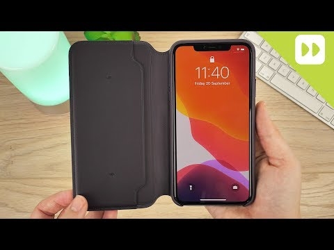 Official Apple IPhone 11 Pro Max Leather Folio Case Review