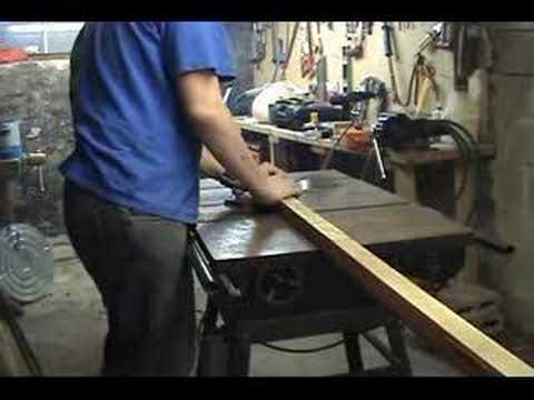 Building a Muskoka Ski Chair