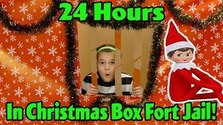 24 hour box fort challenge