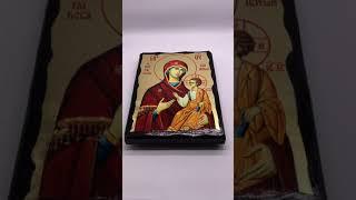 Икона Богородица Иверская 17*23 см.