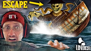 Gambar cover ESCAPE the Haunted TITANIC Sinking Ship! FGTEEV goes UNDER the SEA