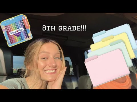 BACK TO SCHOOL SUPPLIES SHOPPING 2019!!!