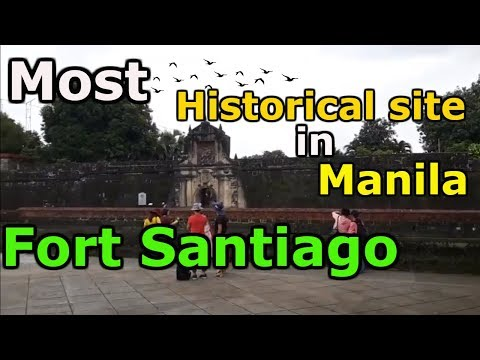 FORT SANTIAGO, THE MOST HISTORICAL SITE In Manila! VLOG TOUR, Philippines 2018