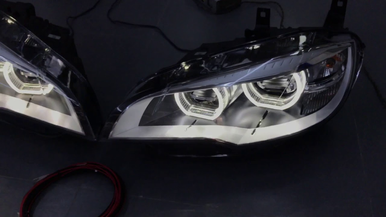 Bmw X6 E71 All Led Headlamps Test Normal Support The Old X5 X6