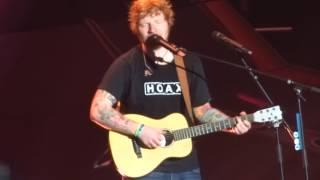 """Ed Sheeran - """"Perfect"""" (Live in San Diego 8-6-17)"""
