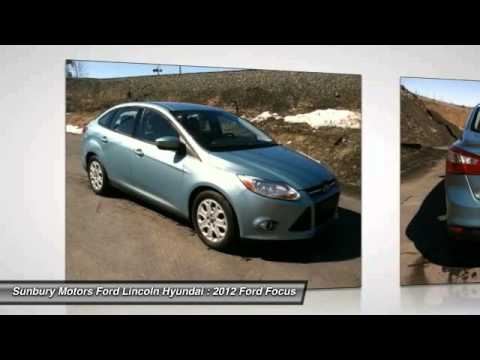 2012 Ford Focus Sunbury Pa Z880 Youtube