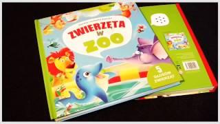 Seria - Zaglądamy do środka: Zwierzeta na wsi i Zwierzęta w zoo. Książeczki z 5 głosami zwierząt.