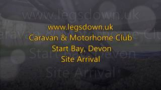 Devon - Start Bay Caravan & Motorhome Club Site Arrival