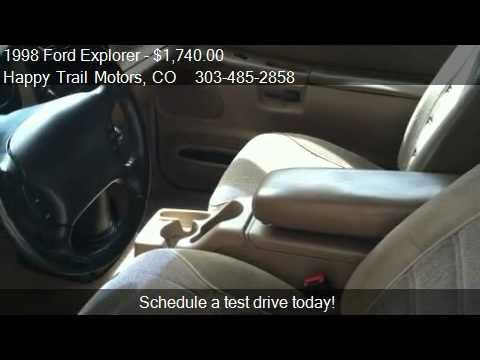 1998 Ford Explorer Sport 2-Door 4WD - for sale in Longmont,