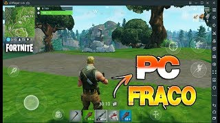 BEST WEAK PC EMULATOR TO PLAY FORTNITE, FREE FIRE, PUBG MOBILE, KNIVES OUT WITHOUT LEG