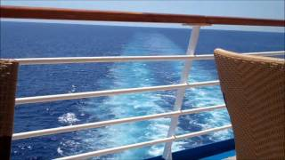 ★❾★ Carnival Ecstasy Cruise- last day at sea