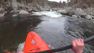 Sortie de kayak sur l'Allier Sup
