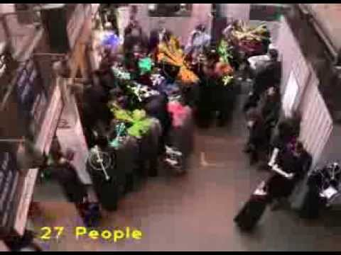 2006 Tracking people in crowds