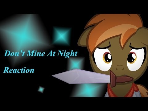 Fan Animation - Don't Mine At Night - Blind Reaction
