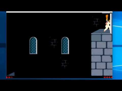 Prince of Persia 1: Pyramid - Level 12 Solution
