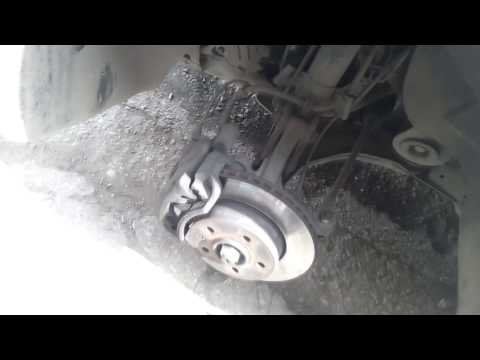 Замена тормозных колодок Mercedes Benz W638 или Mercedes Benz Vito  Replacement of brake shoes