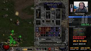 Diablo 2 LoD HC Any% Hell Amazon Speedrun - 6:29:58 [WR]