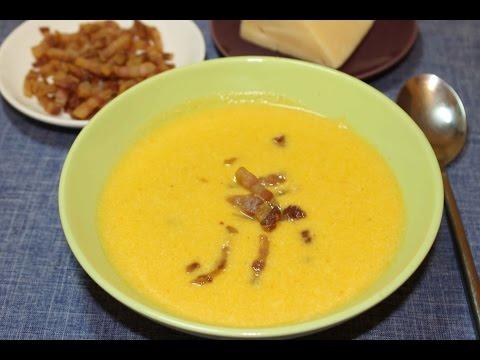 Суп пюре сырный как приготовить?