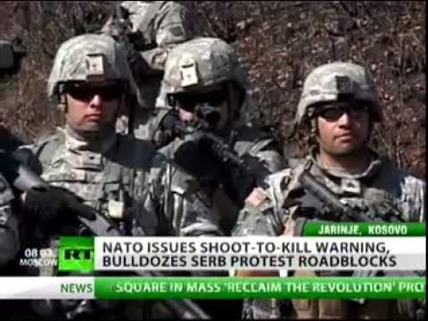 Shoot to Kill: Live Ammunition Assaults on Peaceful Serbian Demonstrators in Kosovo