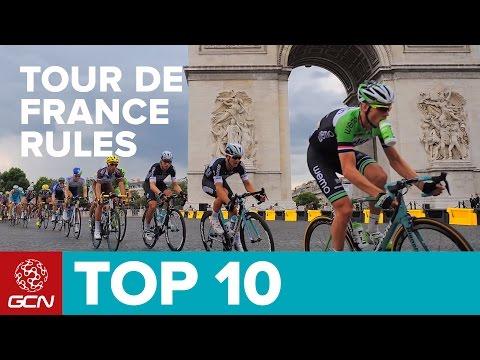 Top 10 Rules Of The Tour De France