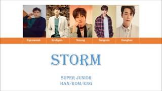 Super Junior - Storm
