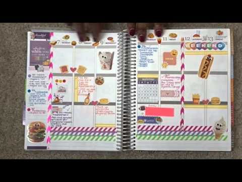 NURSING SCHOOL: How I stay organized with my Erin Condren planner