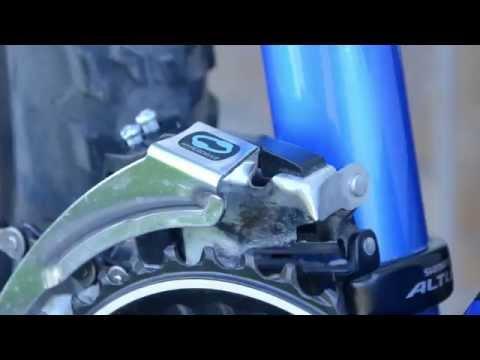 Установка переднего переключателя велосипеда и его настройка