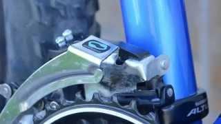 Установка переднего переключателя велосипеда и его настройка(Руководство по замене и настройке переднего переключателя велосипеда. Старый - Shimano FD-M310 Altus Новый - Shimano..., 2015-06-15T16:16:07.000Z)