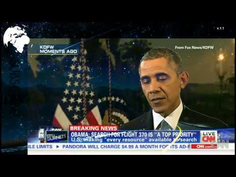 Obama on Malaysia Airlines Flight 370