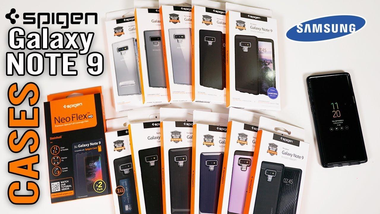 100% authentic 27c1d 422a6 Galaxy Note 9 Spigen Cases: Tough Armor Thin Fit Neo & more!!!