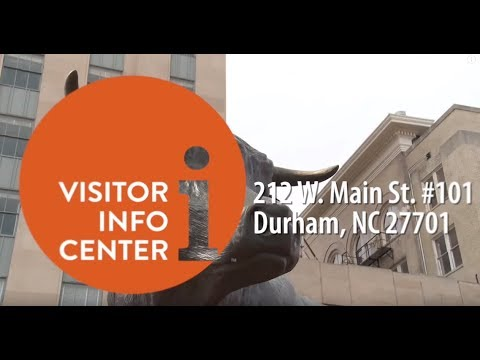Visiting Durham, NC? This should be your first stop!