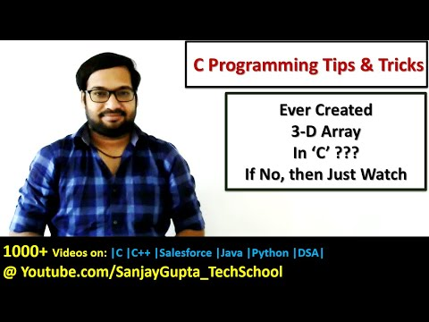 How to read and print 3-D array in c programming | by Sanjay Gupta