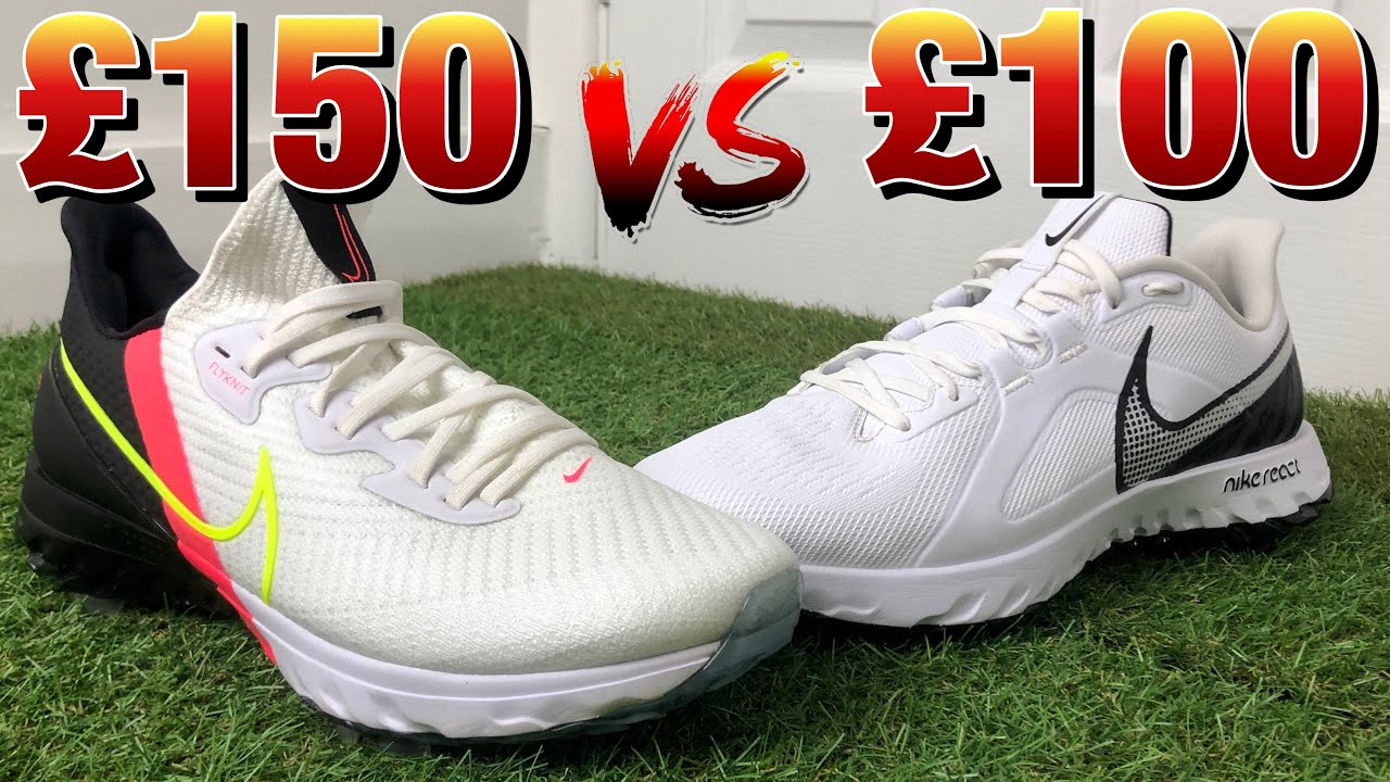 Nike Air Zoom Infinity Tour vs Nike React Infinity Pro   Nike golf shoes comparison