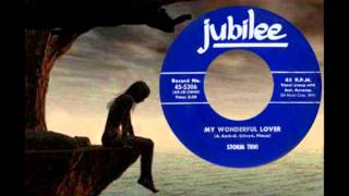 STORM TRIO - My Wonderful Lover (1957) Early Girl Group Sound