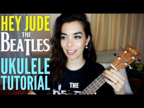 FULL TUTORIAL - HEY JUDE ~THE BEATLES UKULELE