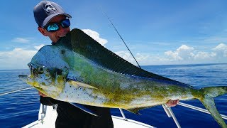 UNBELIEVEABLE Color CHANGING Fish -Catch Clean Cook- Dolphin (Mahi Mahi)
