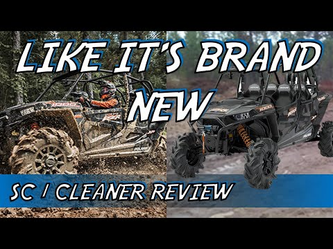 Cleaning Your UTV - Looking BRAND NEW With Maxima SC1 Coating