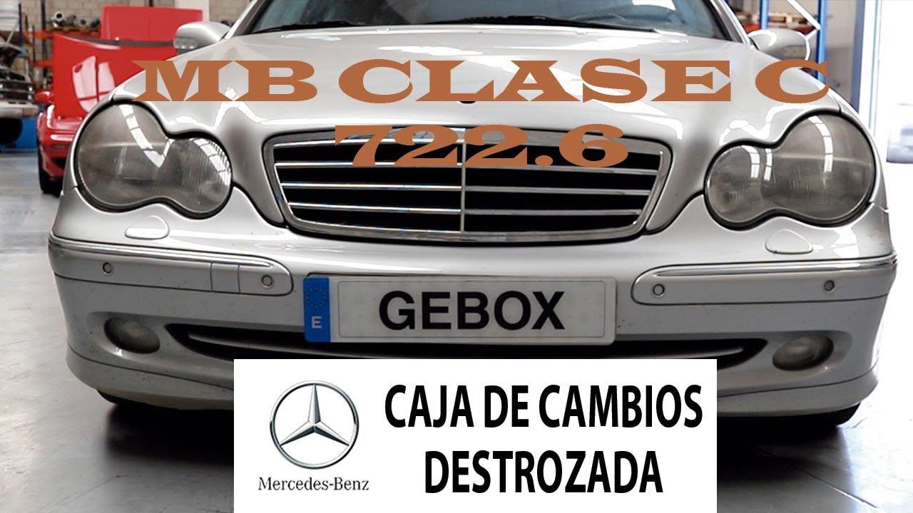 Mercedes Benz clase C 270 cdi - caja de cambios DESTROZADA  equipo #gebox.cajasdecambio   T2E5_2020
