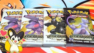 Ouverture 4 Boosters NB Legendary Treasures Pokémon ! SURPRISE DU TONNERRE !