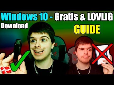 Lovlig og GRATIS Windows 10 Download! (VIRKER 100% i 2017)