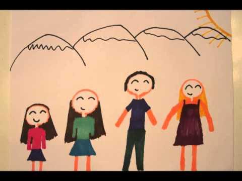 Dibujo Laura Milos  Mi Familia  Stop Motion  YouTube