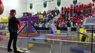 2018 FRC Power Up 5417 Allen Houston Lonestar Central Regional Week 3 Qm-18 qm18 #2018txho .